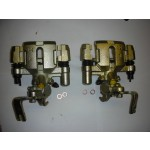 MAZDA MX5 EUNOS MIATA PAIR OF REAR BRAKE CALIPERS WITH BRACKETS 1989-2002