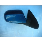 HONDA INTEGRA DC5 DRIVER SIDE FRONT DOOR MIRROR BLUE 2000-2003.
