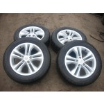 "NISSAN QASHQAI 17"" ALLOY WHEELS WITH TYRES 5 STUDS 2006-2012."