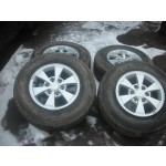 "MISTUBISHI L200 ANIMAL WARRIOR BARBARIAN 16"" ALLOY WHEELS WITH TYRES 2006-2011."