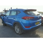 HYUNDAI TUCSON BLUE 1700 CC 6 SPEED MANUAL DIESEL ESTATE 2017