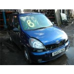 TOYOTA YARIS  1500 2002 BLUE Manual Petrol 5 Door
