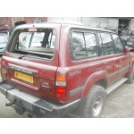 TOYOTA LANDCRUISER AMAZON 4200 2002 MAROON Automatic Turbo Diesel 5Door