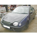 TOYOTA COROLLA  1300 1998 RED Manual Petrol 5 Door