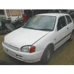 TOYOTA STARLET 1300 CC 1989-1990 WHITE AUTO PETROL 2 DOOR.