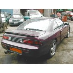 NISSAN 200SX TURBO 2000 1997 MAROON Automatic Petrol 2Door
