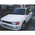 TOYOTA STARLET  1300 1996 WHITE Manual Petrol 3Door
