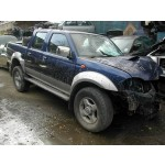 NISSAN NAVARA D22 2500 2005 BLUE Manual Turbo Diesel 4Door