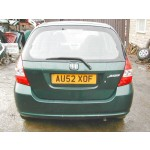 HONDA JAZZ 1600 2002 GREEN Manual Petrol 5 Door BREAKING SPARES