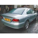 MITSUBISHI GALANT V6-24 2500 1998 MAROON Auto Petrol 4 Door