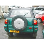 TOYOTA RAV-4  2000 1998 BLACK Manual Petrol 3 Door