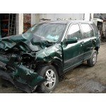 HONDA CR V  2200 CC GREEN MANUAL TURBO DIESEL 5 DOOR 2006.
