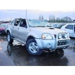 NISSAN NAVARA  2500 2004 RED Manual Turbo Diesel 4Door