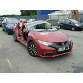 HONDA CIVIC 1600 CC i-DTEC RED 6 SPEED MANUAL DIESEL BREAKING SPARES NOT SALVAGE 2014
