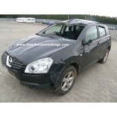 NISSAN QASHQAI 1600 CC BLACK BREAKING SPARES NOT SALVAGE 5 DOOR HATCHBACK 2008