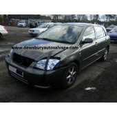 TOYOTA COROLLA 1600 CC GREY BREAKING SPARES NOT SALVAGE 5 DOOR HATCHBACK 2002