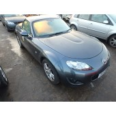 MAZDA MX5 MX-5 ROADSTER SE CONVERTIBLE 1800 CC MANUAL GREY PETROL BREAKING SPARES 2009