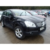 NISSAN QASHQAI 2009 ACENTA 1461 CC 1.5 DCI BLACK MANUAL 5 DOOR BREAKING SPARES NOT SALVAGE