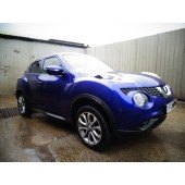 NISSAN JUKE TEKNA 1500 CC DIESEL BLUE BREAKING SPARES NOT SALVAGE 2015