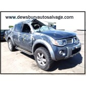 MITSUBISHI L200 DID D/C ANIMAL PICKUP 2500 CC GREY DIESEL 4 DOOR 2007