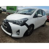 TOYOTA YARIS 1400 CC D-4D BREAKING SPARES NOT SALVAGE 5 DOOR HATCHBACK 2015
