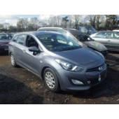 HYUNDAI i30 I30 CLASSIC DRi GREY 1600 CC 6 SPEED MANUAL DIESEL ESTATE  2013