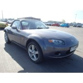 MAZDA MX5 MX5 CONVERTIBLE 1800 CC MANUAL GREY PETROL 2006 BREAKING SPARES