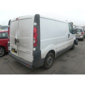 VAUXHALL VIVARO 2700 CDTI 2000 CC 6 SPEED AUTOMATIC DIESEL 2007 BREAKING SPARES NOT SALVAGE