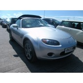 MAZDA MX5 CONVERTIBLE 1800 CC MANUAL SILVER PETROL 2009