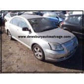 TOYOTA AVENSIS T3-X 1800 CC MANUAL BREAKING SPARES NOT SALVAGE 2003