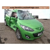 MAZDA 2 1600 CC 5 SPEED MANUAL DIESEL 5 DOOR HATCHBACK 2011 BREAKING SPARES NOT SALVAGE