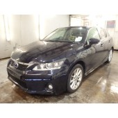 LEXUS CT 200H 200 H CT200 BLACK CVT HYBRID BREAKING SPARES NOT SALVAGE 5 DOOR AUTO 2011