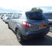 NISSAN QASHQAI 1500 CC N-TEC GREY MANUAL 5 DOOR BREAKING SPARES NOT SALVAGE 2012