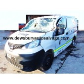 NISSAN NV200 SE DCI WHITE 1500 CC PANEL VAN BREAKING SPARES NOT SALVAGE 2010