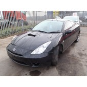 TOYOTA CELICA VVTi 1800 CC COUPE BLACK BREAKING SPARES NOT SALVAGE 2003