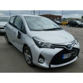 TOYOTA YARIS 1500 CC HYBRID AUTOMATIC BREAKING SPARES NOT SALVAGE 5 DOOR HATCHBACK 2015