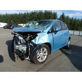 NISSAN NOTE ACENTA PREMIUM 1200 CC PETROL MANUAL 5 DOOR HATCHBACK 2014 BREAKING SPARES NOT SALVAGE