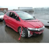 HONDA CIVIC 2200 CC 2008 RED BREAKING SPARES NOT SALVAGE