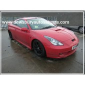 TOYOTA CELICA T SPORT VVTLI 1800 CC 2001 RED BREAKING SPARES NOT SALVAGE
