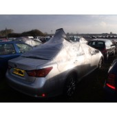 LEXUS GS300 H GS 300 LUXURY SILVER BREAKING SPARES NOT SALVAGE 4 DOOR SALOON 2014