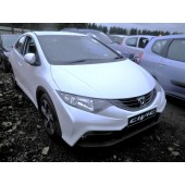 HONDA CIVIC 1600 CC I-DT WHITE BREAKING SPARES NOT SALVAGE 5 DOOR HATCHBACK 2013