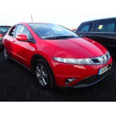 HONDA CIVIC 2200 CC SE I-CDTI RED BREAKING SPARES NOT SALVAGE 5 DOOR HATCHBACK 2010
