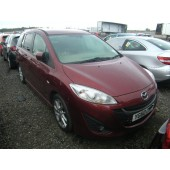MAZDA 5 MPV SPORT 2000 CC 6 SPEED MANUAL 5 DOOR RED BREAKING SPARES NOT SALVAGE 2010