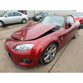 MAZDA MX5 MX-5 VENTURE EDITI CONVERTIBLE MANUAL RED PETROL BREAKING SPARES  2013