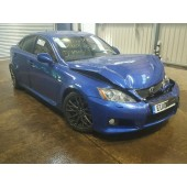 LEXUS ISF IS F AUTOMATIC PETROL BLUE 2010 BREAKING SPARES NOT SALVAGE 4 DOOR SALOON