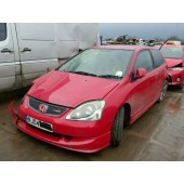 HONDA CIVIC TYPE-R PETROL RED MANUAL BREAKING SPARES NOT SALVAGE 2004
