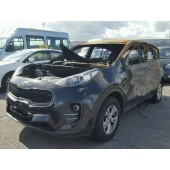 KIA SPORTAGE 1700 CC 6 SPEED MANUAL DIESEL BLACK BREAKING SPARES NOT SALVAGE 2017