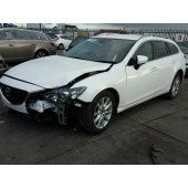 MAZDA 6 SE AUTOMATIC WHITE BREAKING SPARES NOT SALVAGE ESTATE 2016