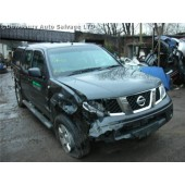 NISSAN NAVARA 2500 CC TURBO DIESEL DARK GREY BREAKING SPARES PARTS 2008.