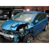 NISSAN NOTE 1600 BLUE AUTOMATIC PETROL 5 DOOR 2009